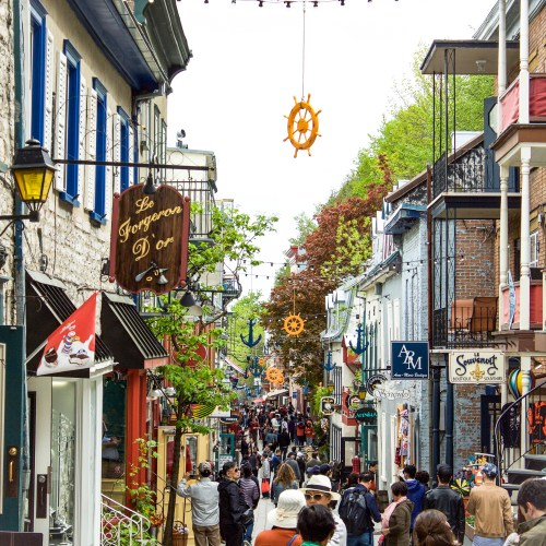 Rue de petit Champlain Quebec