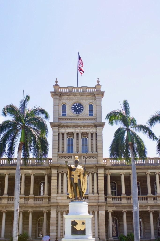 hawaii oahu in 5 days Iolani palace