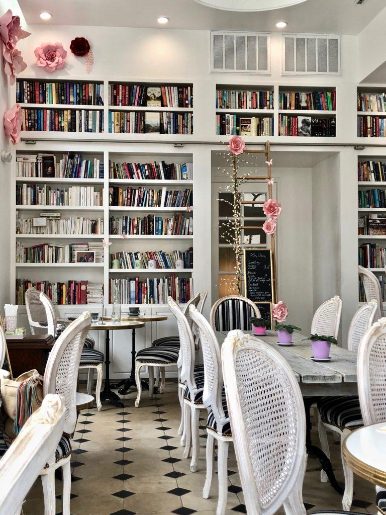 Cafe poetes instagram worthy interior houston