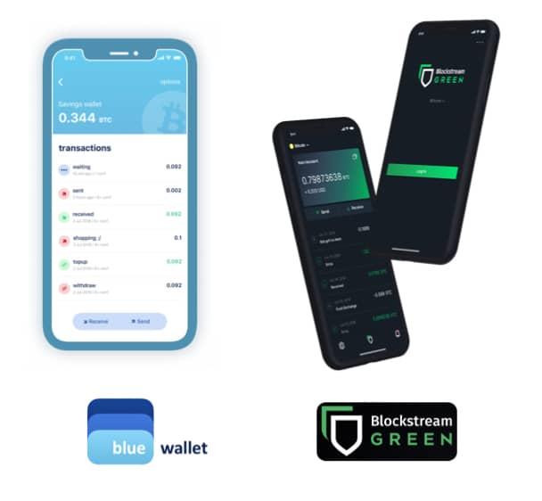 Start2Bitcoin - een Bitcoin adres kan je genereren via een wallet zoals Bluewallet of Blockstream Green