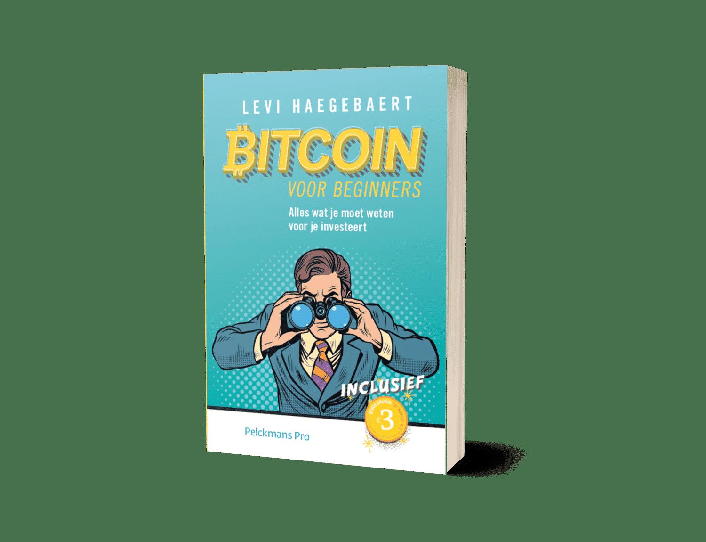 Het Bitcoin boek voor beginners van Levi Haegebaert legt uit wat Bitcoins zijn en hoe je van start gaat - Pelckmans Pro