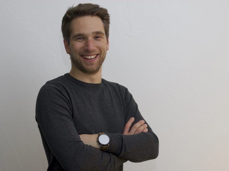 Levi Haegebaert van Start2Bitcoin