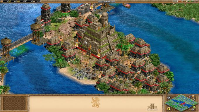 age of empires 2 the forgotten