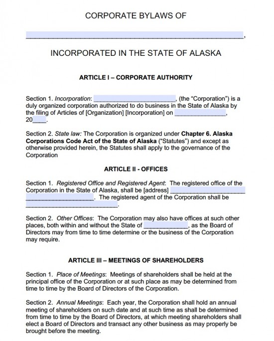 Agreement Agreement. Articles Of Incorporation California. Board