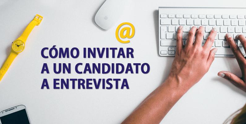 Cómo solicitar entrevista con un candidato