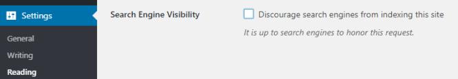 wordpress-moteur de recherche-visibilité