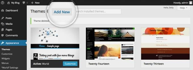 How to build a blog with a new theme