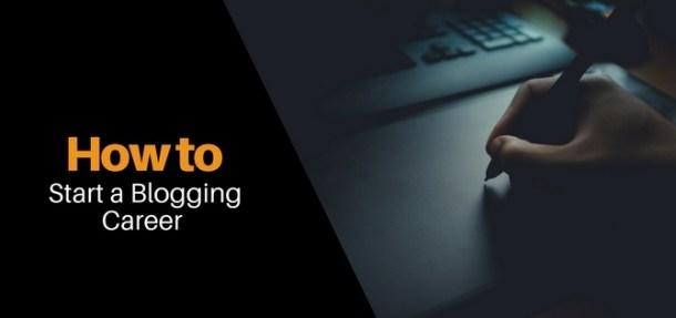 Start Blogging Income