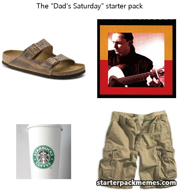 Conflicted Father In The Movie Starter Pack Meme Shut Up And
