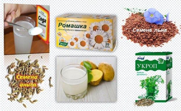Лекарственные растения от изжоги