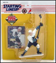 Open 1997 Starting Lineup Colorado Avalanche Sandis Ozolinsh