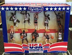 Starting Lineup Kenner 1992 Basketball Team