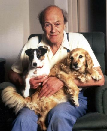 Writer Roald Dahl whose dark tales have thrilled youngsters and adults for two generations