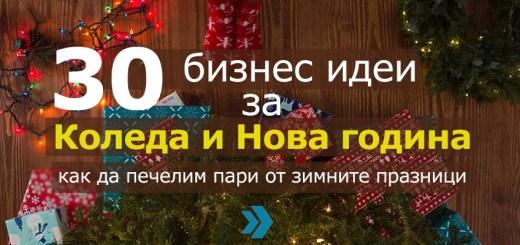 30 бизнес идеи за Коледа и Нова година - как да печелим пари от зимните празници