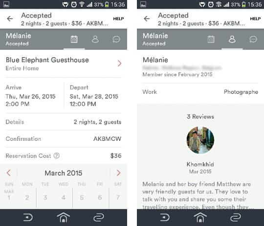 พาชมหน้าตาและฟีเจอร์แอพ AirBnb บน Android ฝั่งเจ้าของที่พัก