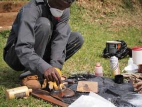Ronex shows you how to use fibreglass to make a mould.