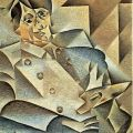 Cubism: 'Portrait of Picasso' by Juan Gris, 1912