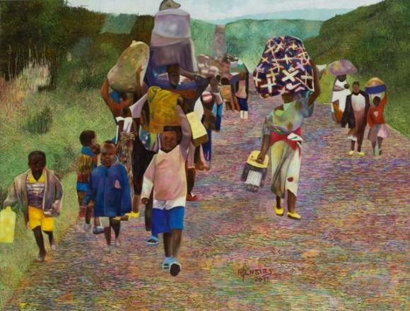 "Road to No where ""Exodus"" by Joseph Ntensibe"