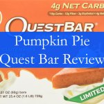 Pumpkin Pie Quest Bar : Review
