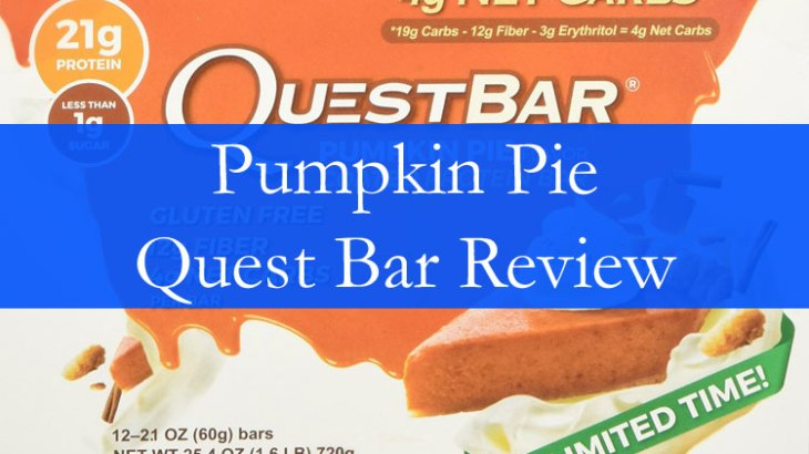 Pumpkin Pie Quest Bar Review