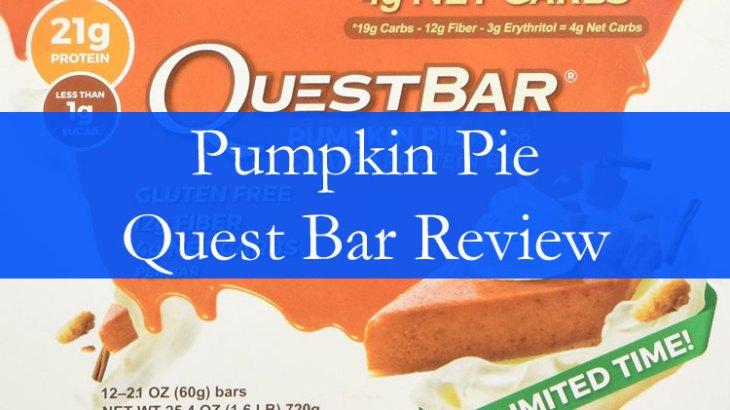 Pumpkin Pie Quest Bar Review
