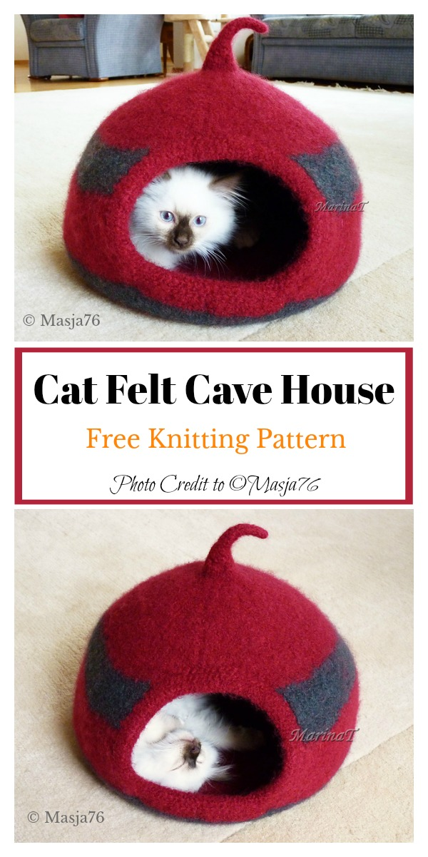 free cat knitting patterns # 48