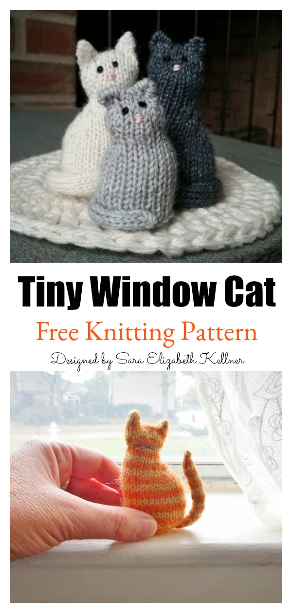 free cat knitting patterns # 19