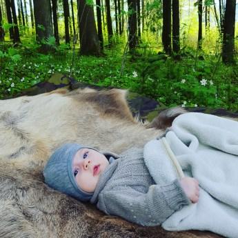 godt å slappe av i skogens ro etter en lang skoledag