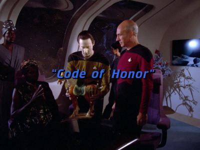 "Star Trek: The Next Generation S01E04 ""Code of Honor"""