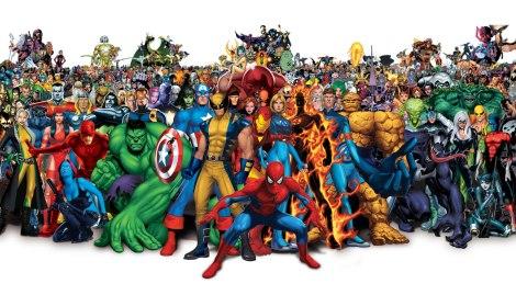 Marvel Comics composite