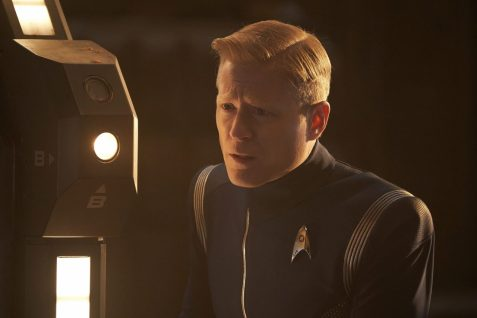 """Perpetual Infinity"" -- Ep#211 -- Pictured: Anthony Rapp as Stamets of the CBS All Access series STAR TREK: DISCOVERY. Photo Cr: Steve Wilkie/CBS ©2018 CBS Interactive, Inc. All Rights Reserved."
