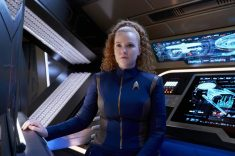 """""""Perpetual Infinity"""" -- Ep#211 -- Pictured: Mary Wiseman as Tilly of the CBS All Access series STAR TREK: DISCOVERY. Photo Cr: Steve Wilkie/CBS ©2018 CBS Interactive, Inc. All Rights Reserved."""