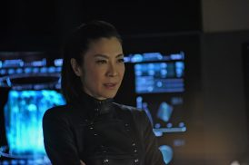 """Such Sweet Sorrow"" -- Ep#213 -- Pictured: Michelle Yeoh as Georgiou of the CBS All Access series STAR TREK: DISCOVERY. Photo Cr: John Medland/CBS ©2018 CBS Interactive, Inc. All Rights Reserved."