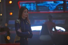 ÒSuch Sweet Sorrow, Part 2Ó -- Ep#214 -- Pictured: Jayne Brook as Admiral Cornwell of the CBS All Access series STAR TREK: DISCOVERY. Photo Cr: Russ Martin/CBS ©2018 CBS Interactive, Inc. All Rights Reserved.