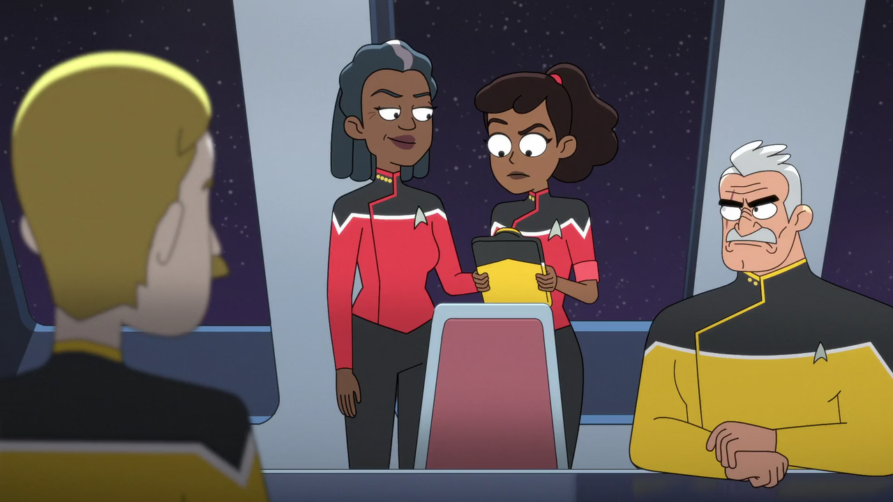 "Star Trek: Lower Decks S1 E4 – ""Moist Vessel"""