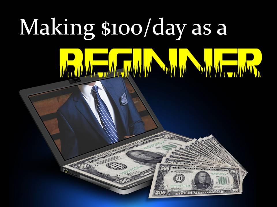 making money as a beginner
