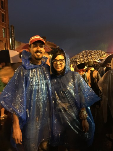 Fourth of July in the Rain