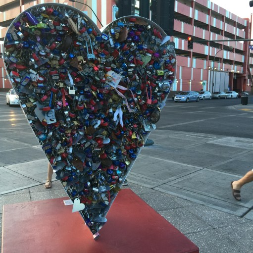 Heart Lock-5 Cool Off the Strip Things to do In Vegas