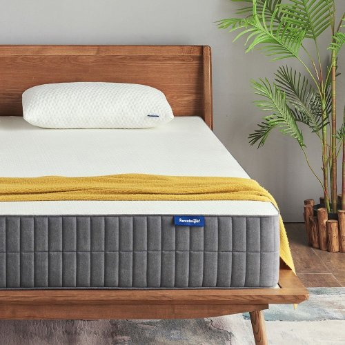 "Sweetnight Mattress - Linenspa 8"" Mattress - Best Mattresses for Stomach Sleeping"
