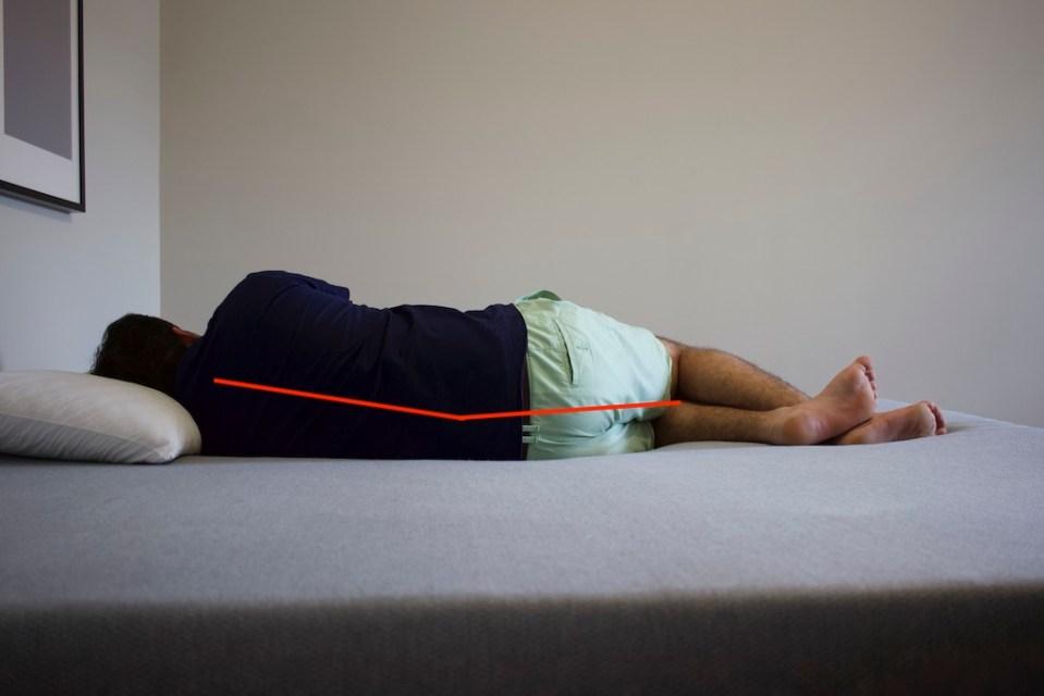Side Sleeping 215 Pounds - Zoma Mattress Review