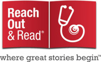 Reach Out and Read Logo and Link to Website