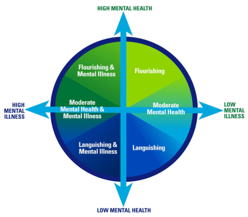 the Dual Continua Model of Mental Health & Mental Illness