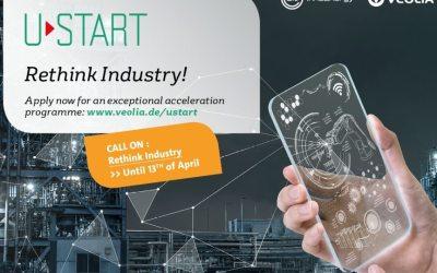 Veolia und InnoEnergy starten dritte gemeinsame Start-up Kampagne