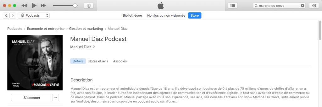 marche ou creve le podcast inspirant