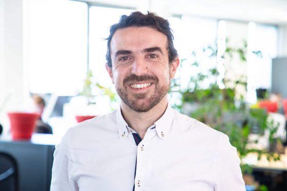 """Jean-Marie Cognet, Co-fondateur et CEO de UbiCast : """"Nous avons multiplié l'usage de nos plateformes par 15""""."""