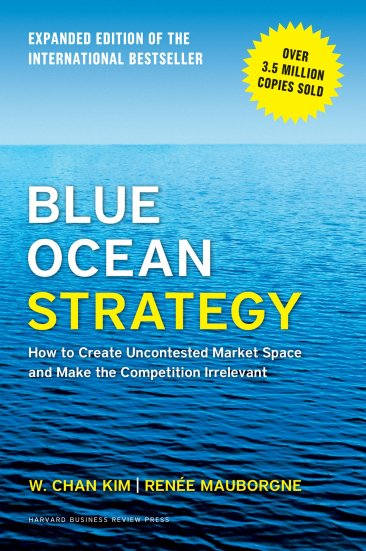 What is blue ocean strategy, a book by Chan Kim