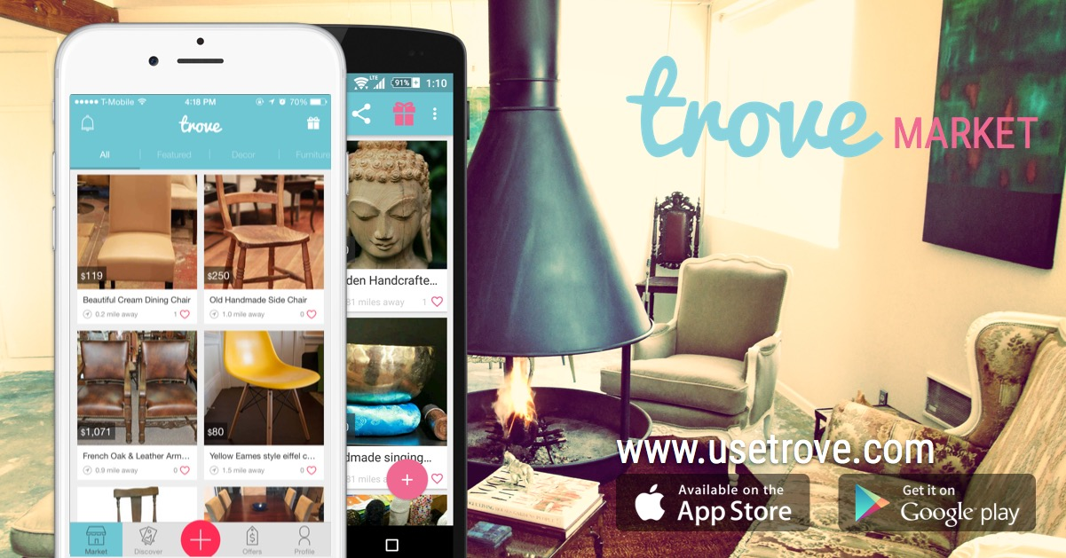 Trove Market Integrates Commerce With Chat