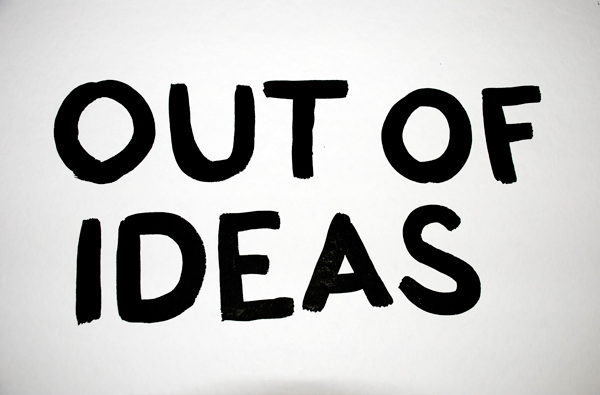 Is government running out of ideas?