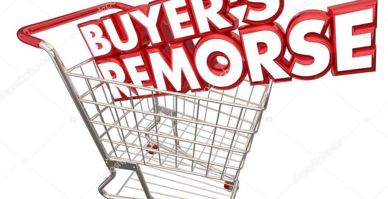 4 questions to help avoid buyer's remorse
