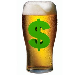 Beer prices shoot up again!